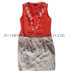 Good Quality Used Clothing for Lady, Man & Child Wear From China (FCD-002) pictures & photos