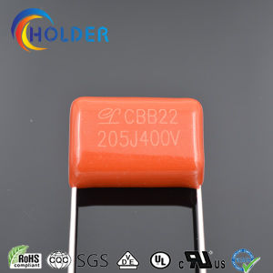 Metallized Ploypropylene Film Capacitor (CBB22 205/400 P=20) for Filter, by-Passing, Coupling, Decoupling, Timing, Tuning and Temperature Compensation pictures & photos