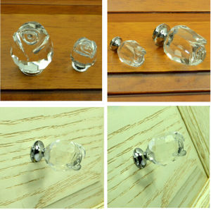 Modern Kitchen Crystal Handle for Cabinet pictures & photos