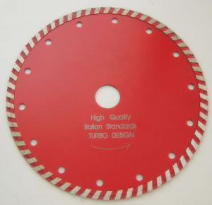 Sintered Turbo Cutting Wheel, Diamone Turbo Blade pictures & photos
