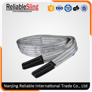 4t 100% Polyester Eye Eye Flat Webbing Sling pictures & photos