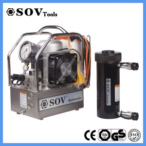 Sov Double Acting Hollow Plunger Hydraulic Cylinder pictures & photos