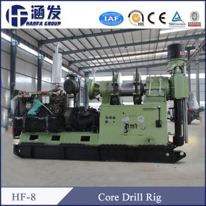 Trailer Type Hydraulic Core Drilling Rig (HF-8) pictures & photos