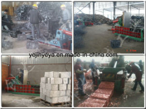 Stainless Steel Scrap Baling Press Machine pictures & photos