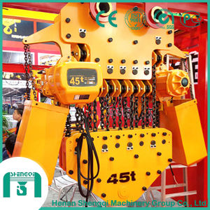 China Top Quality Level Construction Usage Electric Chain Hoist pictures & photos