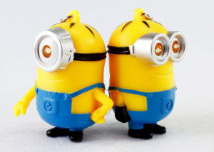 Minion Silicone Key Chain with CE RoHS FCC pictures & photos