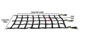 Heavy Duty Cargo Net with Cam Buckle & E-Fittings pictures & photos