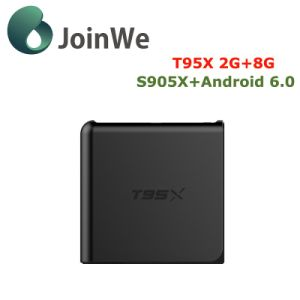 T95X IPTV Media Player Kodi 16.1 Fully Loaded Android 6.0 TV Box pictures & photos