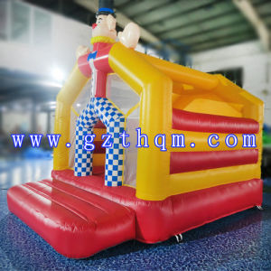 Clown Themed Inflatable Jumping Castle/Waterproof Small Inflatable Bouncy Jumping Castles for Kids pictures & photos
