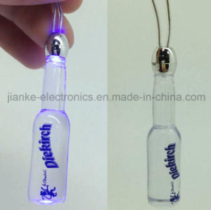 LED Flashing Bottle Necklaces with Logo Print (2001) pictures & photos