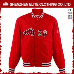 Custom Sublimated Quilted Longline Bomber Jacket Wholesale pictures & photos