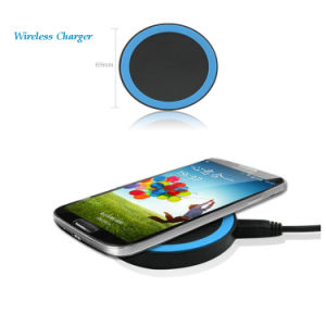 Wireless Charger for Samsung/LG/iPhone/HTC/Mi/Huawei Smartphone iPhone5S/iPhone6/iPhone6s Mobile Phone pictures & photos