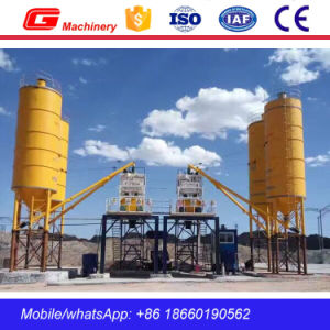 Portable Cement Concrete Mixing Plant Mixer Price with Parts pictures & photos