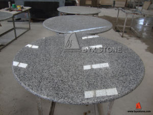 G640 Luna Pearl Granite Round Table Top pictures & photos