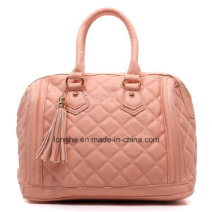 Fashion Quilted PU Leather Ladies Designer Handbag (ZXS0069) pictures & photos