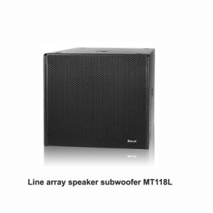 China Mt118L PRO Audio 18 Inch Line Array Sub-Woofer pictures & photos