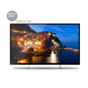 "50"" LED Smart TV with Toughened Glass Cp50cg-W8 pictures & photos"