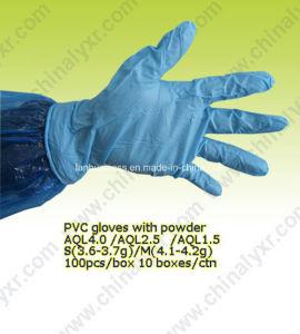 Disposable A Grade Medical PE Gloves pictures & photos