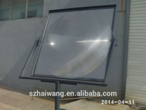 Factory Price Glass Solar Fresnel Lens for Cooker (HW-G1010-1) pictures & photos