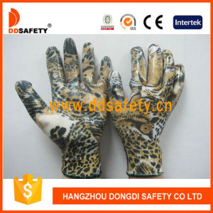 Ddsafety 2017 White Nylon with Eagle Design Shell Glove pictures & photos