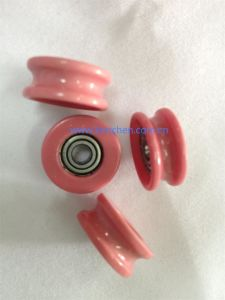 Full Ceramic Idler Pulley (NT006-2) Cable Ceramic Wire Guide Roller Pulley pictures & photos