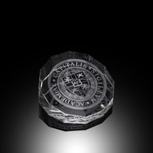 Crystal Double Octagon Paperweight (#52011) pictures & photos