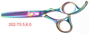 Hair Cutting Scissors 202-T 5.5, 6.0