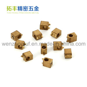 Brass Cross Knurled Inserts Brass Round Inserts pictures & photos