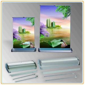 Desktop Roll up Banner Stand, Horizontal Banner Stand pictures & photos