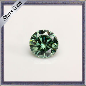 Light Green Brilliant Real Moissanite Gemstone for Jewelry pictures & photos