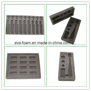 EPE EVA PE Black Foam Inserts for Packaging Industrial pictures & photos