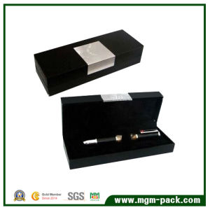 Exquisite Black Single Paper Gift Pen Box for Packing pictures & photos