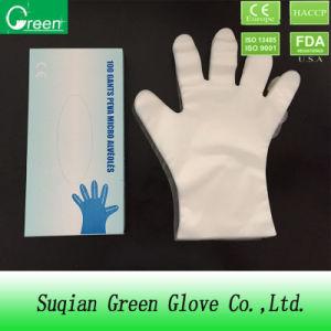 Cheap Disposable Transparent TPE/PE/CPE Gloves pictures & photos