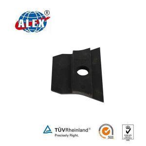 Black Nabla Rail Insulator Gauge Plate