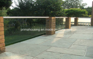 Frameless Glass Fence / Balcony Glass Guardrails for Sale pictures & photos