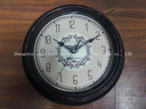 Rural Classic Antique Art Digital Wall Clock
