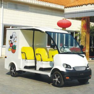 Marshell Factory Supply 4 Seats Electric Food Delivery Vehicle (DU-F4) pictures & photos