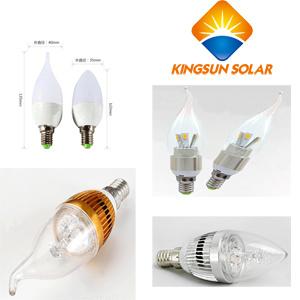 3W/5W/ E27/E14, Cuspidal / Spuned LED Candle Bulbs pictures & photos