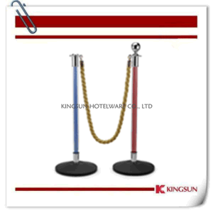 Acrylic Crowd Control Stanchions Comes with Cement Flat Base pictures & photos