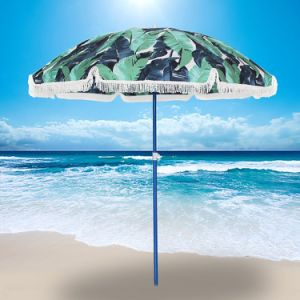 6FT Outdoor Patio Beach Umbrella