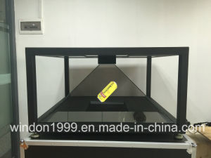 4-Sided 1X1 Meter 3D Hologram Showcase pictures & photos