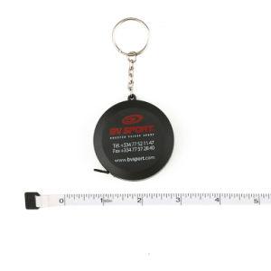 1.5 Meters Black Mini Retractable Custom Tape Measure Keychain pictures & photos