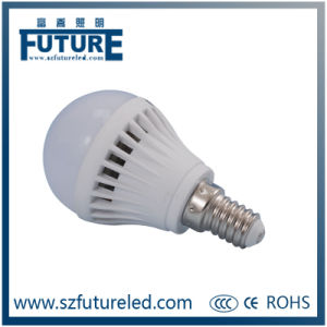 7W E27/E14 LED Bulb Plastic Housing with Pure White pictures & photos