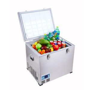 DC Compressor Refrigerator 60liter DC12/24V with AC Adaptor (100-240V) for Outdoor Entertainments Application pictures & photos