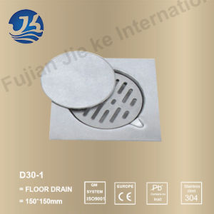 Stainless Steel Bathroom Hardware Floor Drain (D30-1)