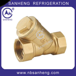 Brass Y Strainers and Y Strainer Ball Valves pictures & photos
