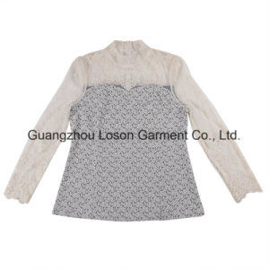 New Design Casual Girl′s Long Blouse