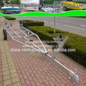 Manufacturer Made to Sale Galvanized 5.6m Boat Trailer of Wholesale Bct0920 pictures & photos
