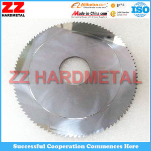 Solid Tungsten Carbide Circular Blade with Polishing Surface pictures & photos
