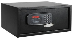 Black Hotel Guest Room Safe Box with LED Display pictures & photos
